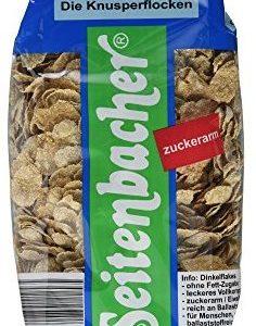 Seitenbacher Dinkel-Flakes, ohne Zucker, 1er Pack (1x 375 g Packung)