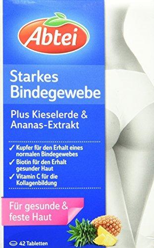 Abtei Starkes Bindegewebe, 42 Tabletten, 1er Pack (1 x 56 g)