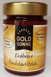 Goldsonne Fruchtaufstrich Erdbeere 78 % Fruchtanteil, 190 g