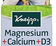 Kneipp Magnesium + Calcium D3 aus Naturmineral, 150 Tabletten, 117 g