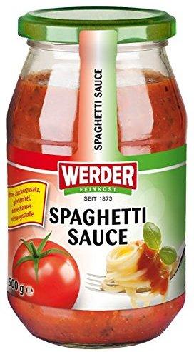 Werder Spaghetti Sauce, 1er Pack (1 x 500 g)