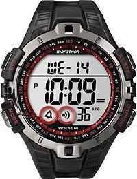 Timex Herren-Armbanduhr XL Lap Timer Sportchronographen Digital Kautschuk T5K4234E