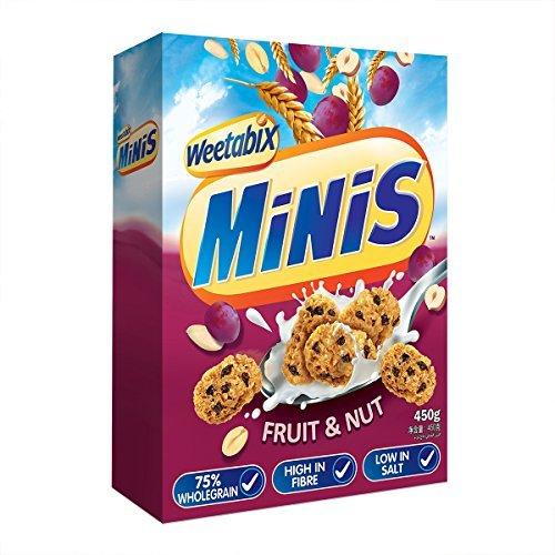Weetabix Minis Frucht & Nuss 450 g, 1er Pack (1 x 450 g)