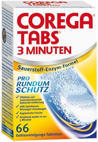 Corega 3 Minuten Tabs, 66 Tabletten