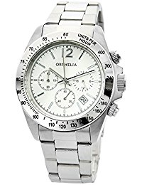 Orphelia Unisex-Armbanduhr Chronograph Quarz Edelstahl