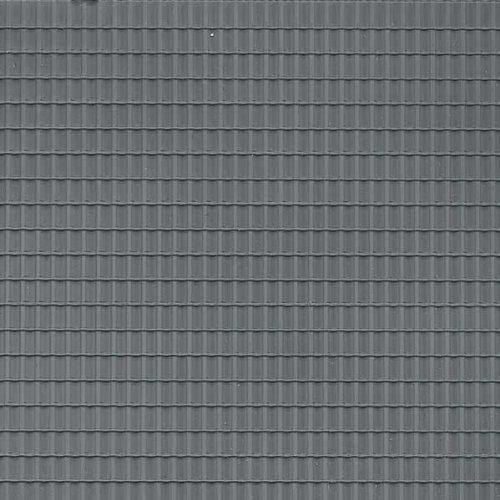 Auhagen 52426 Dachziegel dunkelgrau Single Modellier-Kit