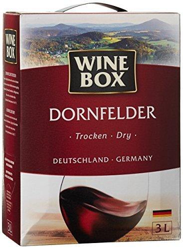 Wine Box Dornfelder Landwein Rhein trocken Bag-in-Box (1 x 3 l)