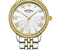 Rotary Damen-Armbanduhr Analog Quarz Edelstahl - LB00359-21