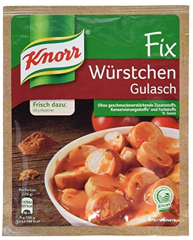 Knorr Fix Product, 11er Pack (11 x 32 g)