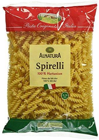 Alnatura Bio Spirelli Semolato, vegan, 6er Pack (6 x 500 g)