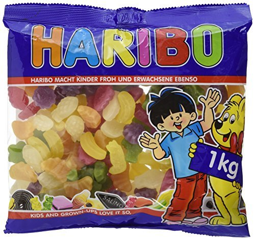 Haribo Tropi Frutti, 1er Pack (1 x 1 kg)