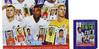 Panini eng14sp England 2014 Aufkleber Starter Pack