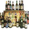 Bier-Adventskalender, 24 Biere aus der Welt und Deutschland, inkl. Geschenkbox (24 x 0.33 l)