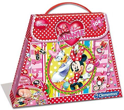 Clementoni 20401.4 - Minnie Shopping Bag Puzzle, 104 Teile