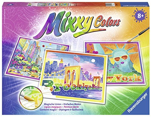 Ravensburger Mixxy Colors 29452 - New York