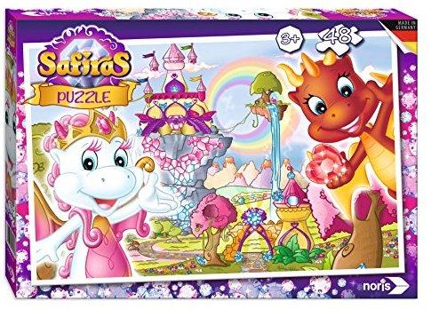 Noris Spiele 606031525 - Safiras Puzzle 48 Teile, Tara und Draki