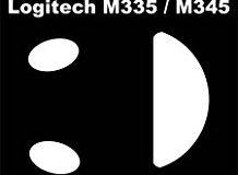 Corepad cs28270 Skatez Ersatz-Mausfusse fur Logitech M335-M345 (2 Sets enthalten)