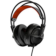 SteelSeries Siberia 200 Gaming Headset (Ausziehbares Mikrofon) schwarz