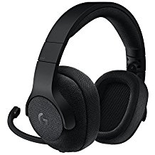 Logitech G433 Kabelgebundene Gaming Kopfhorer (7.1 Surround Sound, fur PC, Xbox One, PS4, Switch, Mobiltelefon) schwarz