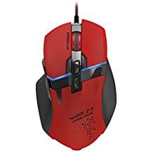 Speedlink Kudos Z-9 Core Gaming Maus (Konfigurations-App, Laser-Sensor bis 8200 dpi, 9 Tasten, 4-Wege-Mausrad) rot