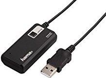 Hama Bluetooth Audio Sender Twin (Empfanger Adapter zur gleichzeitigen ubertragung an 2 Kopfhorer oder Lautsprecher, drahtlos BT