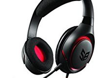 Creative SB Inferno Gaming-Headset (40 mm Full-Spectrum-Treiber, abnehmbares Mikrofon) fur PC, Mac, iPhone, Android und PS4 schw