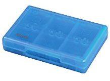 Hama Game Case fur 22 Spiele und 2 Speicherkarten (fur Nintendo New 3DS-XL, 3DS- XL, 2DS, DSi- XL und DS-Spiele) Blau