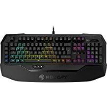 ROCCAT Ryos MK FX RGB Mechanische Gaming Tastatur (DE-Layout, Per-key, RGB Multicolor Tastenbeleuchtung, MX Key Switch RGB braun