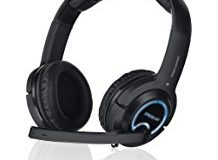 Speedlink Gamer Kopfhorer fur PC - Computer und Konsole - Xanthos Gaming Headset  (3m Kabellange - Stereo-Klang mit intensiven B