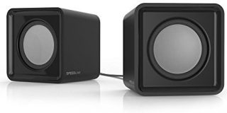 Speedlink USB-betriebene Stereo-Lautsprecher - TWOXO Stereo Speakers USB - 3,5 (5W RMS Ausgangsleistung - Frequenzbereich 50 Hz