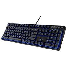 SteelSeries Apex M500 Gaming-Tastatur (Mechanisch, Cherry MX Rot-Schalter, Blaue Hintergrundbeleuchtung) - Deutsches Tastaturlay