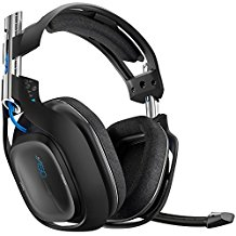 Astro Gaming A50 Wireless Dolby 7.1 Headset schwarz inklusive wireless MixAmp [PlayStation 4, PlayStation 3, Windows 7, Windows