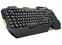 Sharkoon Shark Zone K30 Gaming-Tastatur mit LED-Beleuchtung schwarz
