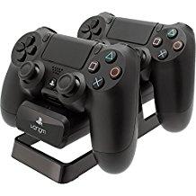 Venom Dual Charging Stand & Battery Pack - Ladestation inkl. 2 Akku Packs fur Dualshock 4 Controller, schwarz - [PlayStation 4]