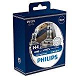 Philips 12342RVS2 RacingVision +150% H4 Scheinwerferlampe, Doppelset: Amazon.de: Auto