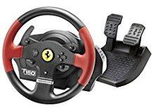 Thrustmaster T150 Ferrari Edition (Lenkrad inkl. 2-Pedalset, PS4 - PS3 - PC)