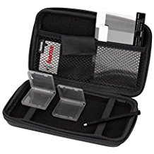 Hama 8 in 1-Zubehor-Set fur Nintendo New 3DS XL (inkl. Tasche, Schutzfolien, Stift, Game Cases u.v.m.) schwarz