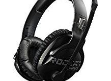 ROCCAT Khan Pro - Hi-Res Esports Gaming Headset (Stereo 3,5 mm, Superleichte 230 g, Multiplattform Kopfhorer fur PC-Mac-Playstat