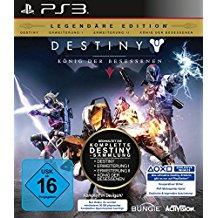 Destiny: Konig der Besessenen Legendare Edition (PS3) (nur noch Grundspiel enthalten)