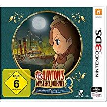 Layton`s Mystery Journey: Katrielle und die Verschworung der Millionare - Standard Edition - [Nintendo 3DS]