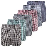 Lower East Herren American Boxershorts, 6er Pack: Amazon.de: Bekleidung