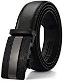 Shoppen Sie Xhtang-Ledergürtel Herren Automatik Gürtel mit Automatikschließe-3, 5cm Breite auf Amazon.de:Gürtel