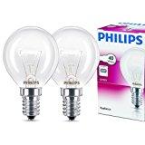 2x Philips Backofenlampe E14 40W Tropfenform 45mm Durchmesser, temperaturfest bis 300&deg,C (2 St&uuml,ck): Amazon.de: Elektro-G