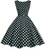 Shoppen Sie Bbonlinedress 50s Retro Schwingen Vintage Rockabilly kleid Faltenrock auf Amazon.de:Kleider