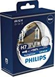 Philips 12972RVS2 RacingVision +150% H7 Scheinwerferlampe, Doppelset: Amazon.de: Auto