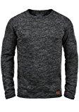BLEND Dan Herren Strickpullover Rundhalskragen aus hochwertiger Baumwollmischung Meliert: Amazon.de: Bekleidung