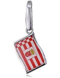 Giorgio Martello Milano Damen-Anhänger Silber Flagge 988-813069