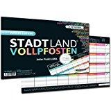 DENKRIESEN Stadt Land Vollpfosten - Junior Edition, Stadt-Land-Fluss neu aufgelegt f&uuml,r Kinder und Jugendliche (Spielblock i
