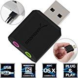 Sabrent USB Externe Soundkarte f&uuml,r Windows und: Amazon.de: Computer & Zubehör