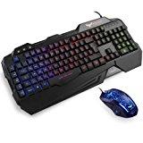 HAVIT Gaming Tastatur und Maus Set, LED: Amazon.de: Computer & Zubehör